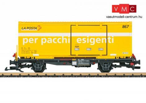 """LGB 47893 RhB Containertragwagen """"La Posta"""""""