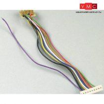 Lenz 80012 LY012 9 pólusú LENZ kábel, 8-tűs NEM652 csatlakozóval