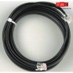 Lenz 80161 LY161 XpressNet kábel, 5m, mindkét végén 6 pólusú csatlakozóval