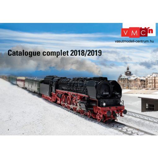 Märklin 15762 Katalógus 2018/2019, angol nyelven (1,H0,Z)