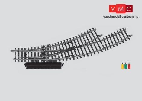 Märklin 2268 Íves balos váltó r360 mm, 30°/30° - elektromos állítóművel,
