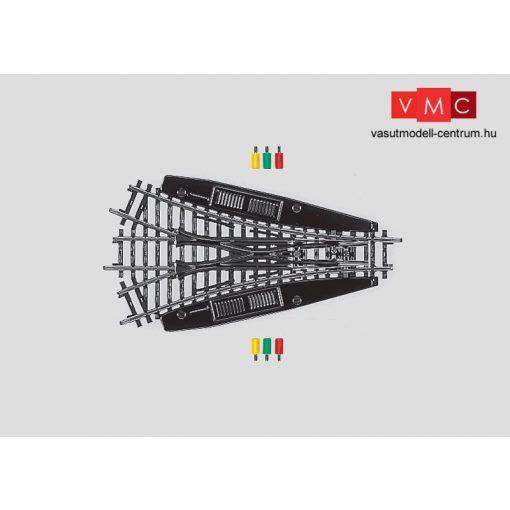 Märklin 2270 Szimmetrikus hármasváltó 424,6 mm / r424,6 mm, 22,5° 30' - elektromos állít