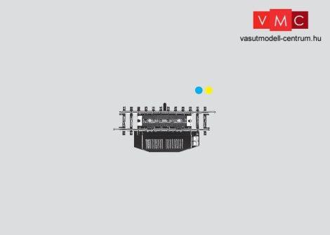 Märklin 2297 Kocsiszétkapcsoló egyenes sín 1/2 90 mm - elektromos állítóművel