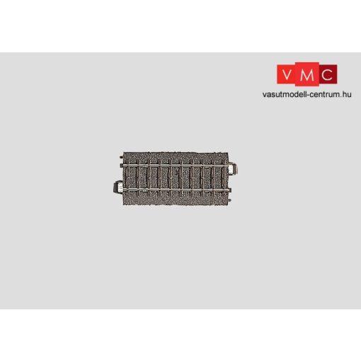 Märklin 24077 Ágyazatos egyenes sín, 77,5 mm, C-Gleis (H0) - AC
