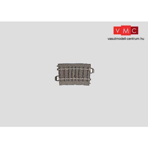 Märklin 24207 Ágyazatos íves sín 7,5°, R2 r437,5 mm, C-Gleis (H0) - AC