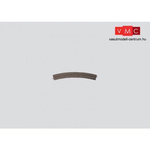 Märklin 24430 Ágyazatos íves sín 30°, R4 r579,3 mm, C-Gleis (H0) - AC