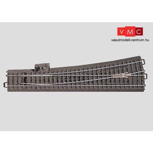 Märklin 24711 Ágyazatos balos váltó 236,1 mm, 10° r1114,6 mm, C-Gleis (H0) - AC