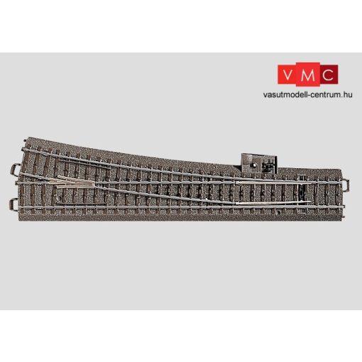 Märklin 24712 Ágyazatos jobbos váltó 236,1 mm, 10° r1114,6 mm, C-Gleis (H0) - AC