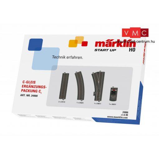 Märklin 24900 Märklin Start up - C1 ágyazatos sínkészlet, C-Gleis (H0) - AC