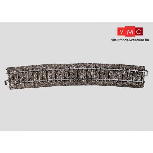 Märklin 24912 Ágyazatos íves sín r1114,6 mm, 12,1°, C-Gleis (H0) - AC