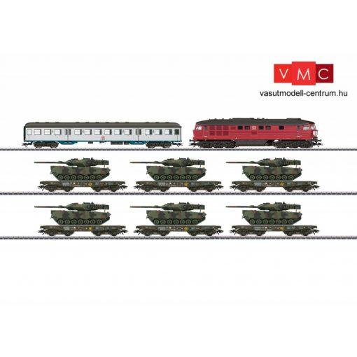 Märklin 26606 Dízelmozdony BR 232 katonai szerelvénnyel, Bundeswehr, DB-AG (E5) (H0) - AC / Sound