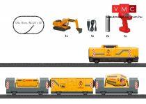 Märklin 29341 Kezdőkészlet: Dízelmozdony építkezési vonattal - My World (H0)