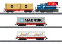 Marklin 29453 Digitális kezdőkészlet: Dízelmozdony konténerszállító tehervonattal, Start up (H0) - AC