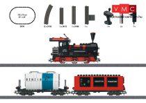 Märklin 29730 Kezdőkészlet: Gőzmozdony tehervonattal építőkockák szállításához, ovál pályával (H0) - AC