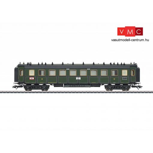 Märklin 41358 Személykocsi, négytengelyes CCü, 3. osztály, K.Bay.Sts.B (E1) (H0) - AC
