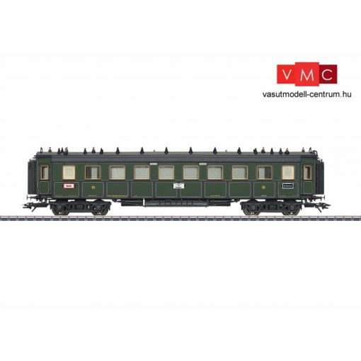 Märklin 41359 Személykocsi, négytengelyes CCü, 3. osztály, K.Bay.Sts.B (E1) (H0) - AC