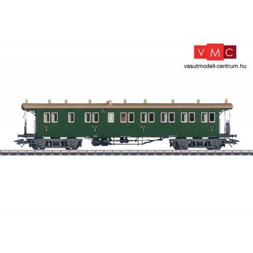 Märklin 42103 Személykocsi, négytengelyes BCCi, 2./3. osztály, K.W.St.E. (E1) (H0) - AC