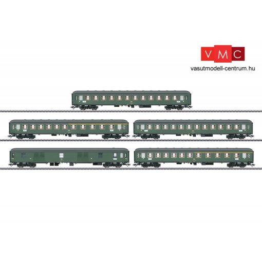 Märklin 42918 Személykocsi-készlet, 5-részes négytengelyes D 360, DB (E4) (H0) - AC