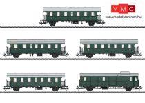 Märklin 43141 Személykocsi-készlet, 4-részes Donnerbüchse, 2 db Ci, BCi, PWi, DB (E3) (H0)