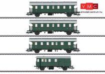 Märklin 43146 Személykocsi-készlet vezérlőkocsival, 4-részes, 2 db Ci, BCi, Pwif-41/52, DB (E3) (H0) - AC