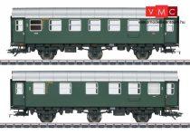 Märklin 43174 Személykocsi-pár, háromtengelyes Umbauwagen, 2./3. osztály és 3. osztály, DB (E3) (H0) - AC - belső világítással