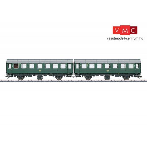 Märklin 43183 Személykocsi-pár, merevenkapcsolt háromtengelyes Umbauwagen B3ygeb, 2. osztály, DB (E3) (H0) - AC