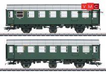 Märklin 43185 Személykocsi-pár, háromtengelyes Umbauwagen, 3. osztály, DB (E3) (H0) - AC - belső világítással