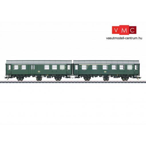 Märklin 43193 Személykocsi-pár, merevenkapcsolt háromtengelyes Umbauwagen BD3ygeb, 2. osztály, DB (E3) (H0) - AC