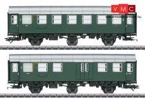 Märklin 43195 Személykocsi-pár, háromtengelyes Umbauwagen, 3. osztály és 3. osztály/poggyász, DB (E3) (H0) - AC - belső világítással
