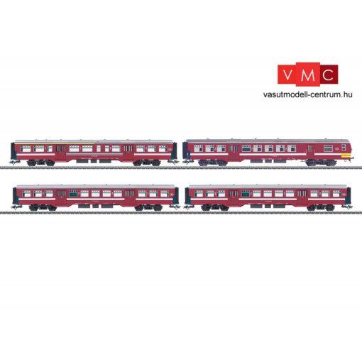 Märklin 43545 Személykocsi-készlet vezérlőkocsival, négytengelyes M2, SNCB (E5) (H0) - AC