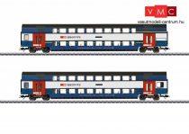 Märklin 43574 Emeletes személykocsi-pár, S-Bahn Zürich (E6) (H0) - AC