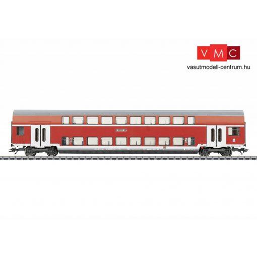 Märklin 43584 Emeletes négytengelyes személykocsi, DAbz 756, 1./2. osztály, DB-AG (E5) (H0)