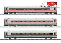 Marklin 43726 Nagysebességű villamos motorvonat betétkocsi-készlet, 3-részes, ICE 4, zöld csíkos kivitelhez, DB-AG (E6) (H0) - AC