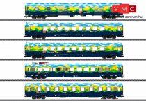 Märklin 43879 Személykocsi-készlet, 5-részes Touristik-Zug, DB-AG, belső világítással (E6) (H0) - AC