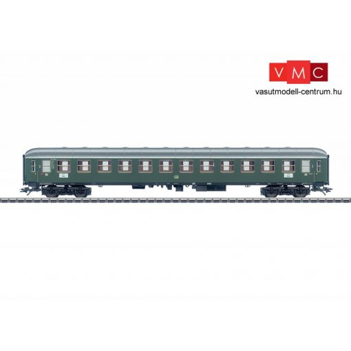 Märklin 43920 Személykocsi, négytengelyes B4üm-63, zöld, 2. osztály, DB (E3) (H0) - AC