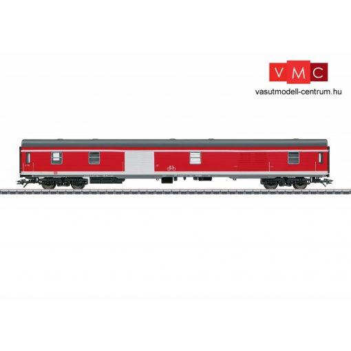 Märklin 43961 Poggyászkocsi, négytengelyes DDuu  498.1,  közlekedésvörös, DB-AG (E5) (H0