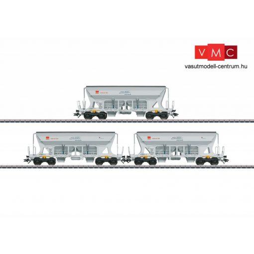 Märklin 45805 Önürítős négytengelyes teherkocsi-készlet, 3-részes Faccns, HVLE (E6) (H0