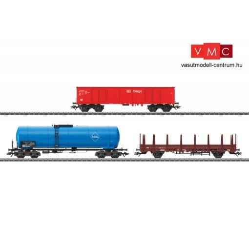 Märklin 46190 Teherkocsi-készlet, 3-részes modern tehervonat, DB-AG (E6) (H0) - AC
