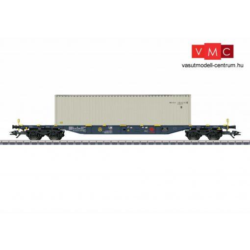 Märklin 47058 Konténerszállító négytengelyes teherkocsi, Sgnss, 40 lábas konténerrel, ERMEWA (E6) (H0) - AC