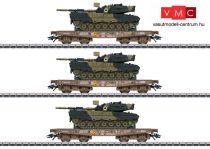 Marklin 48795 Schwerlastwagen-Set m.Leo 1A5