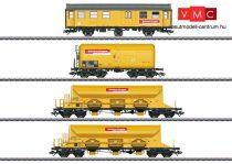Marklin 49969 Pályafenntartási teherkocsi-készlet, 4-részes Bahnbau Gruppe (E6) (H0) - AC