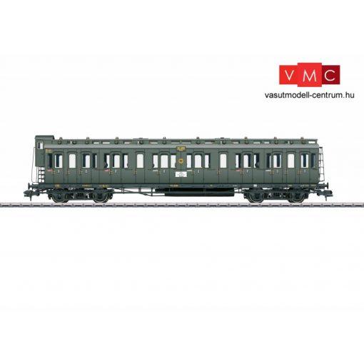 Märklin 58081 Oldalfellépős néygtengelyes személykocsi fékházzal, BC4 pr 04, 2./3. osztály, DRG (E2) (1)