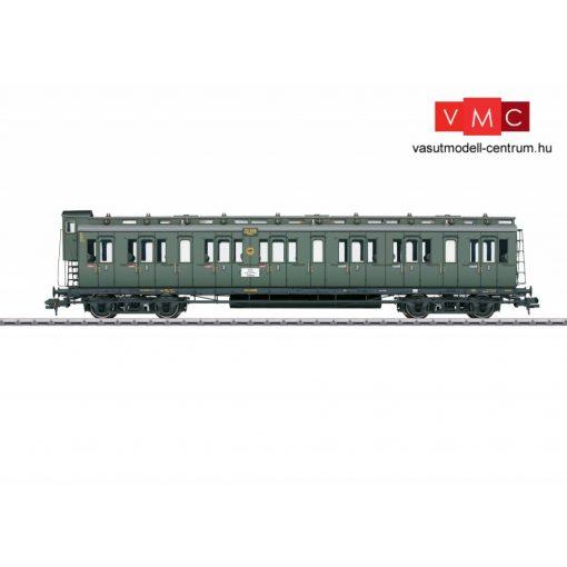 Märklin 58082 Oldalfellépős négytengelyes személykocsi fékházzal, BC4 pr 04, 2. osztály