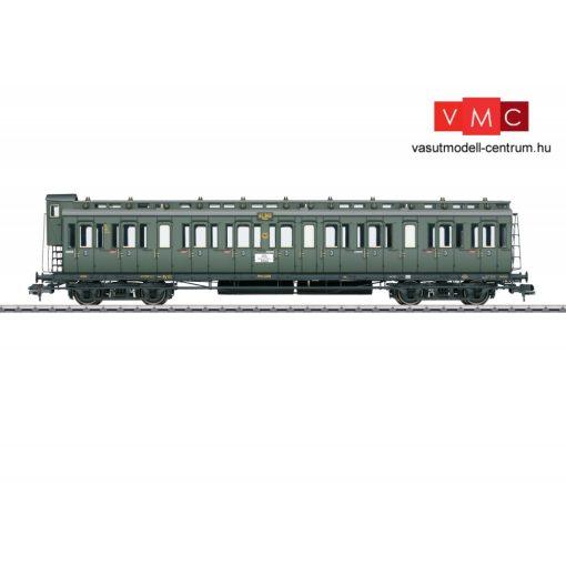 Märklin 58083 Oldalfellépős négytengelyes személykocsi fékházzal, C4 pr 04, 3. osztály,