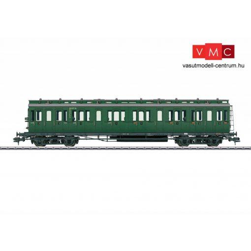 Märklin 58171 Oldalfellépős négytengelyes személykocsi, AB4w 1./2. osztály, DB (E3) (1)