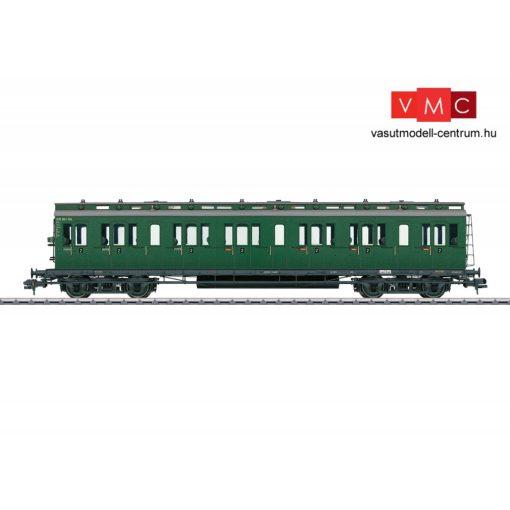 Märklin 58172 Oldalfellépős négytengelyes személykocsi, B4w, 2. osztály, DB (E3) (1)