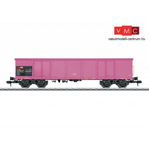 Märklin 58804 Nyitott négytengelyes teherkocsi, Eaos 106, rózsaszín, SBB (E4) (1)