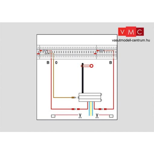 Märklin 74043 Jelzőbekötési alkatrészek C-Gleis, K-Gleis és M-Gleis sínrendszerekhez (H0
