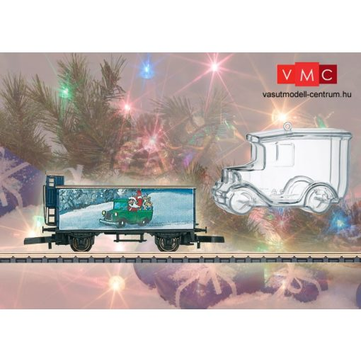 Märklin 80622 Karácsonyi teherkocsi - Weihnachtswagen Z 2012 (Z)