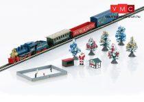 Märklin 81845 Weihnachts-Startpackung 230 Volt. Güterzug mit Gleisoval und entsprechender Stromversorgung